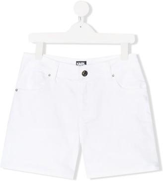 Karl Lagerfeld Paris TEEN denim shorts