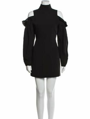 Aq/Aq Turtleneck Mini Dress Black Turtleneck Mini Dress
