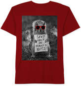 JEM Squirrel Graphic-Print Cotton T-Shirt, Big Boys