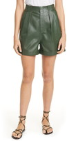 Equipment Bayde Leather Shorts
