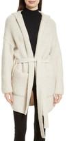 ATM Anthony Thomas Melillo Women's Hooded Sweater Coat