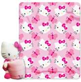 Hello Kitty Sanrio 3D Hugger Pillow & Throw Set