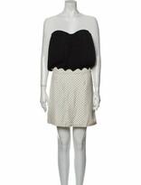 Thumbnail for your product : Alexander Wang Silk Mini Dress Black