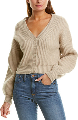 Naadam Cashmere Naadam Chunky Cropped Wool & Cashmere-Blend Sweater