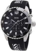 HUGO BOSS Men's 1512868 Rubber Quartz Watch