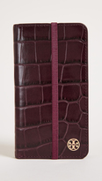 Tory Burch Parker Croc Folio iPhone 7 Case