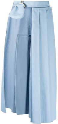 Seen Users 1/2 Pleated Skirt