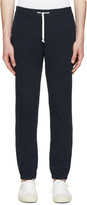 Maison Margiela Navy French Terry Lounge Pants