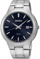 Seiko Solar Stainless Steel Watch