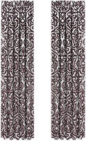 "J Queen New York Sicily 50"" x 84"" Pair of Window Panels Bedding"
