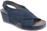 SoftWalk Women's Hansford Slingback Wedge Sandal