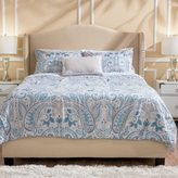 Christopher Knight Home Cash Upholstered Fabric Queen Bed Set