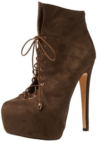 Luichiny Women's Rose Anna Bootie