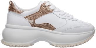 Hogan Maxi I Active Wedge Sneakers