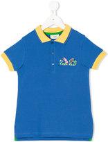 Fendi Bag Bugs polo shirt - kids - Cotton - 4 yrs