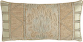 """Dian Austin Couture Home Gwenneth Pieced Pillow, 14"""" x 28"""""""