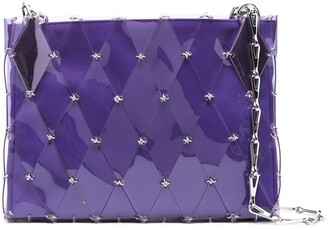 Paco Rabanne quilted PVC shoulder bag