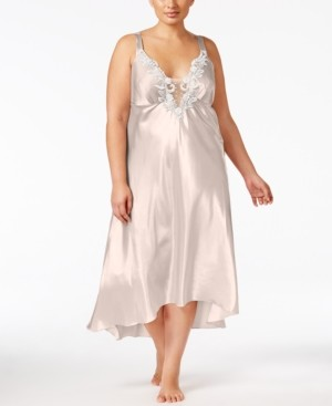 Flora Nikrooz Flora by Plus Size Satin Stella Nightgown