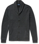 Polo Ralph Lauren Shawl-collar Merino Wool Cardigan - Charcoal
