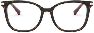 Valentino Eyewear Square Frame Glasses