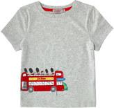 Cath Kidston Placement Print Bus Tshirt
