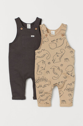 H&M 2-pack Cotton Overalls