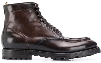 Officine Creative Ebano boots