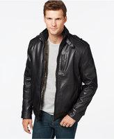 Calvin Klein Faux-Leather Jacket