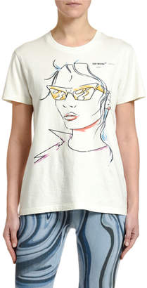 Off-White Sunglasses Woman Graphic Tee