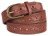 Mossimo Women's Narrow Perforated Belt