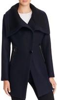 Trina Turk Maddi Asymmetric Cutaway Front Coat
