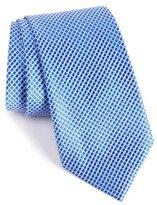 Nordstrom Micro Grid Silk Tie (X-Long)