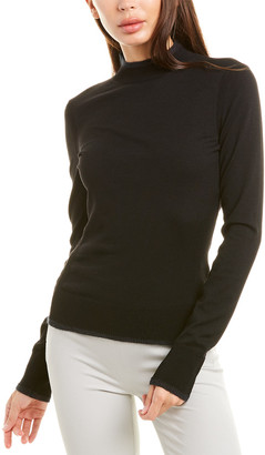 Piazza Sempione Mock Wool-Blend Sweater
