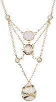 Cole Haan Freshwater Pearl & Semi-Precious Stone Embellished Necklace