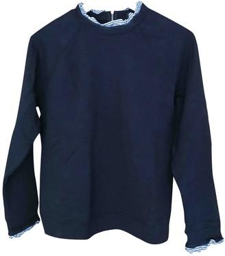 J.Crew Navy Cotton Knitwear for Women