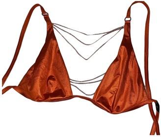 Agent Provocateur Orange Lycra Swimwear for Women