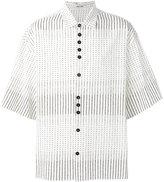 Damir Doma stripe dotted shirt