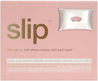 Slip Beauty Sleep Gift Set - White/Pink (Worth 124.00)