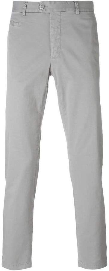 Fay slim-fit trousers
