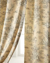 "Legacy Two 96""L Pastorale Toile Curtains"