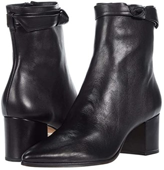 Alexandre Birman Asymmetric Clarita Bootie 60 (Black) Women's Boots