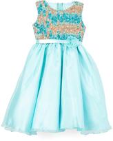 Under the Sea Rosette Dress - Toddler & Girls