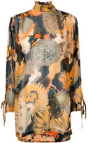 Dries Van Noten multi-patterned dress - women - Silk - 38