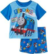 "Thomas & Friends Little Boys' Toddler ""Track Time"" 2-Piece Pajamas"
