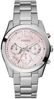 Fossil Women's Chronograph Perfect Boyfriend Stainless Steel Bracelet Watch 39mm ES4173
