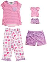 Dollie & Me Girls 4-14 Cat Pajama Set
