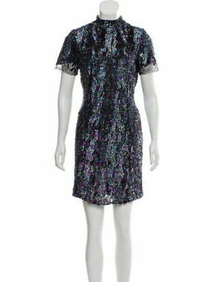 HANEY Sequined Mini Dress w/ Tags