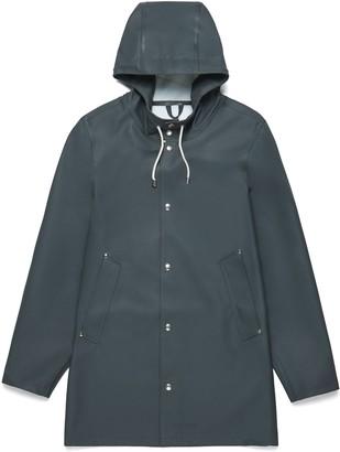 Stutterheim Charcoal Grey Womens Stockholm Raincoat - XXS - Grey