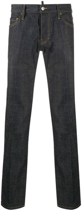 DSQUARED2 Resin-Treated Slim-Fit Jeans