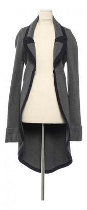 Chanel Grey Wool Coats